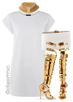"""""""Untitled #1056"""" by efiaeemnxo ❤ liked on Polyvore featuring Tom Ford, balmain, TOMFORD, sbemnxo, styledbyemnxo and balmainxhm"""