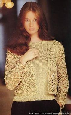 Crochetemoda: Casaqueto Crochet