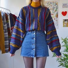 Indie Outfits, Retro Outfits, Cute Casual Outfits, Fall Outfits, Vintage Outfits, Vintage Clothing, Grunge School Outfits, Grunge Winter Outfits, Dress Outfits