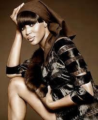 Naomi in Scarf! Exquisite!