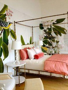 Tropical Bedroom Design
