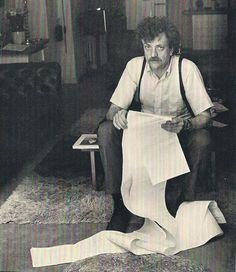 Kurt Vonnegut. Un genio de la literatura norteamericana.