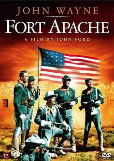 FORT APACHE (1948) - John Wayne - Henry Fonda - Directed by John Ford - DVD cover art.