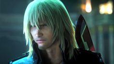 I do so love Lightning and Snow, even when she has her sword to his throat. Lightning Returns: Snow Villiers by FinalFantasyDream.deviantart.com on @deviantART