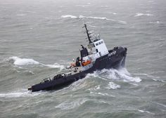 FF63857 Wild Waters, Riders On The Storm, Rough Seas, Merchant Navy, Oil Rig, Tug Boats, Fishing Boats, Cruise, Ocean
