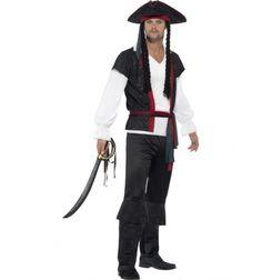 Costum carnaval barbati pirat cu centura
