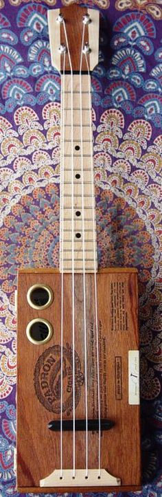 Cigar Box Ukulele #LardysWishlists #Ukulele ~ https://www.pinterest.com/lardyfatboy/ ~