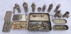 Online veilinghuis Catawiki: Verzameling medische glazen injectie spuiten.