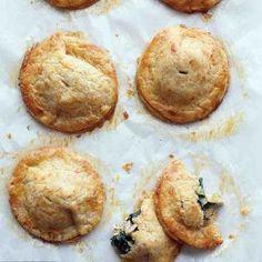 Chicken and Kale Hand Pies with Cheddar Crust Recipe | Martha Stewart