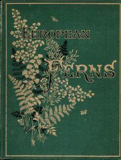 European Ferns.. James Britten   1885