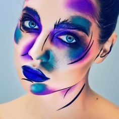 """Alena Filippova """"Lines MakeUp Collection""""<br><br><br>Top Art Style"""