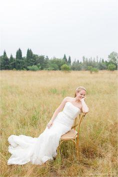 love the chair!  gorgeous bride. image: Carolien and Ben Photography Venue: White Light Lanseria