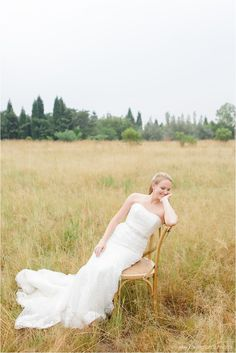 love the chair!  gorgeous bride. image: Carolien and Ben Photography Venue: White Light Lanseria