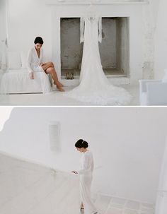 Charming & Traditional Apulia Wedding With A Modern Twist - Wilkie: This lace dress is perfect for any traditional bride!