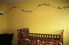love it when i have kids want to do their baby room in bumble bee