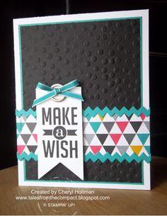 Stampin' Up! Make A Wish w/Kaleidoscope dsp