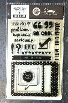 NEW Studio Calico 'EPIC' Stamp Set NIP ~ SC