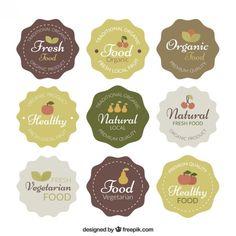 Fruit Logo, Chip Packaging, Food Packaging Design, Logos Vintage, Vintage Labels, Pickle Brands, Organic Cookies, Cookies Branding, Organic Logo