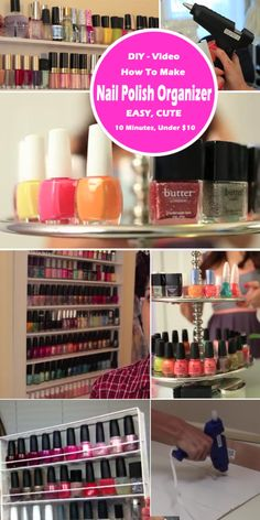 8 Nail Polish Organizer Ideas Youll Want to Copy Immediately
