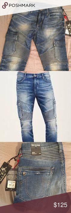 True Religion Geno Classic Cargo Jeans $329 Brand New True religion Jeans retail 329 with all tags True Religion Jeans Slim Straight