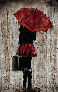 Rainy Day Study- Loui Jover