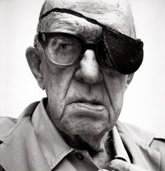 "Richard Avedon, Director John Ford, 1972 ""I didn't show up at the ceremony to collect any of my first three Oscars. Once I went fishing, another time there was a war on, and on another occasion, I remember, I was suddenly taken drunk."" John Ford"