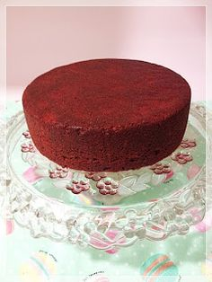Decake: PASO A PASO BIZCOCHO RED VELVET Pastel Red, Flan, Red Velvet, Velvet Cake, Vanilla Cake, Cake Recipes, Cake Decorating, Cheesecake, Food And Drink
