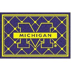 Fanmats Michigan Wolverines Rug 5x8