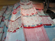 """""""I was speechless reading this tutorial! The ingenious simplicity of it will blow your quilting mind! Thank you to the genius that came up with it!"""" Pinning now to read later"""