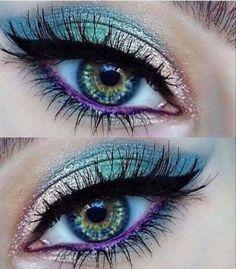 How To remove waterproof eyeliner? Make up eyes - If eyeliner and mascara are waterproof, this places special demands on your eye make-up remover. Makeup Hacks, Makeup Goals, Makeup Ideas, Makeup Inspo, Makeup Tutorials, Makeup Trends, Skin Makeup, Eyeshadow Makeup, Eyeshadow Palette
