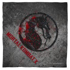 Mortal Kombat X/Stone Logo Bandana