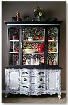 how to share a thon the ole red cupboard, home decor, kitchen cabinets, painted furniture, repurposing upcycling, reupholster, Ole Red Polished Revived