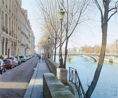 Realistic Watercolor Paintings of Paris by Thierry Duval