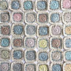 Sweet Little Squares pattern - Part 1 — Intambo
