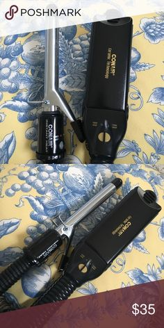 Conair Curling Iron & Straightener Set Perfect Condition! Conair Accessories Hair Accessories