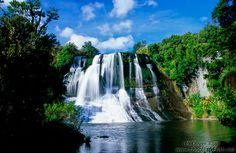 New Zealand North Island/Aniwaniwa waterfall
