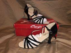 Capezio Rosa Ballroom//Latin Dance Shoe black Size UK 5.5
