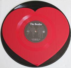 The Beatles Love Me Do Withdrawn Vinyl Record 2012 Andy White unused New Vinyl Cd, Vinyl Music, Vinyl Records, Beatles Love, Love Me Do, Record Players, Blue Aesthetic, Album Covers, Heart Shapes