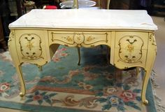 Painted-French-Bombay-Desk