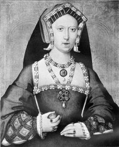 """Mary Tudor Queen of France by Joannus Corvus.  Born 18 March 1496, daughter of Henry VII and Elizabeth of York, sister to Arthur, Margaret, and Henry (VIII).  Married Louis XII and crowned Queen Consort of France in 1514.  Mary was known for her beauty described as """"a Paradise - tall, slender, grey-eyed, possessing an extreme pallor""""."""