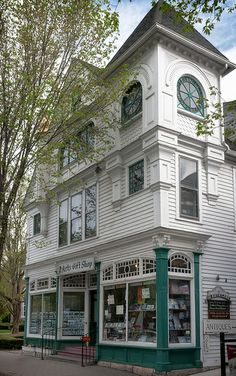 Pratt Block (1892), 44 Main St, Stockbridge, MA (1739, pop. 1,947), USA