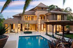 New Washington Stucco Luxury House Design