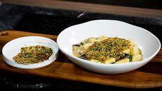 Gorgonzola Gnocchi with a Parmesan Crisp