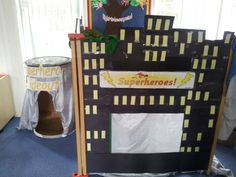 Superhero role play area