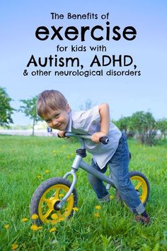 The Benefits of Exercise for Kids with Autism, ADHD and Other Neurological Disorders | At Race Pace