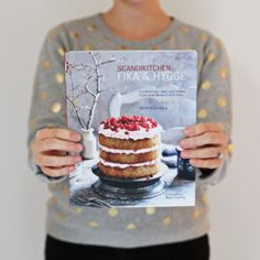 Win a copy of Scandikitchen: Fika and Hygge, by Bronte Aurrell by guessing the weight of the book. Experience fika and hygge. Fika, Hygge, Baking, Breakfast, Competition, Desserts, Gift Ideas, Twitter, Music