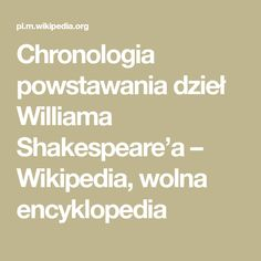 Chronologia powstawania dzieł Williama Shakespeare'a Yorkshire, Math Equations, Yorkshire Terrier Puppies