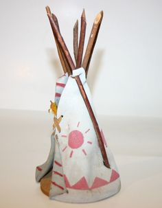 Vintage tiny teepee on etsy