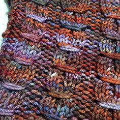Ziyal by Allison Goldthorpe, knitted by OrangeSmoothie | malabrigo Rios in Marte