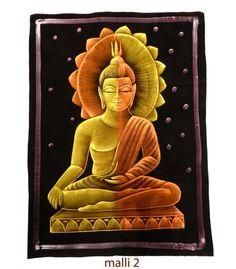 Sametti maalaus Buddha